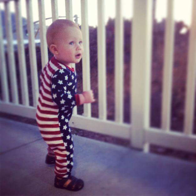 flag suit